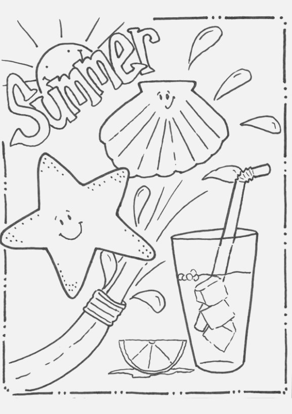 beautiful coloring pages for kids coloring book