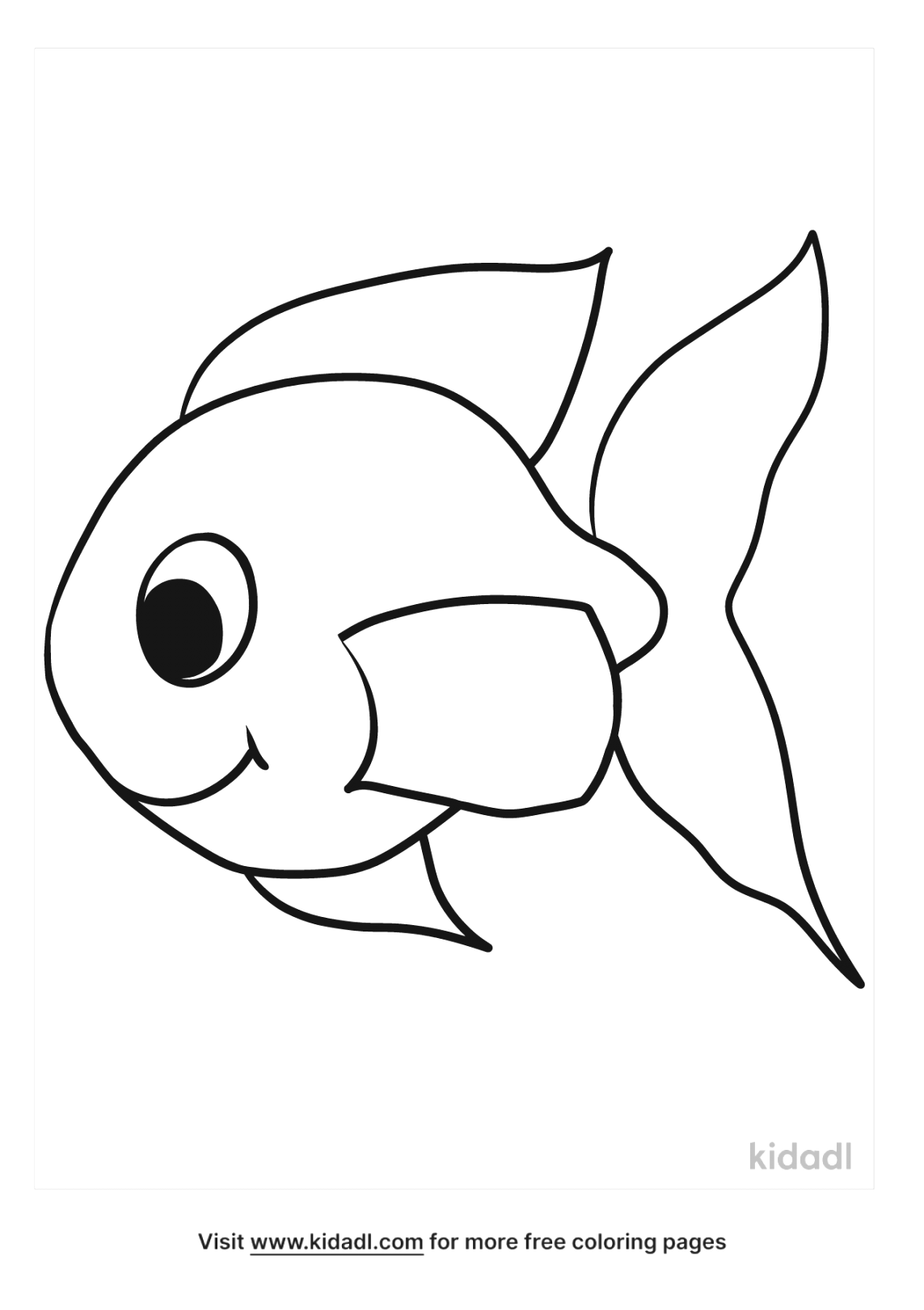 printable fish coloring pages colour and print