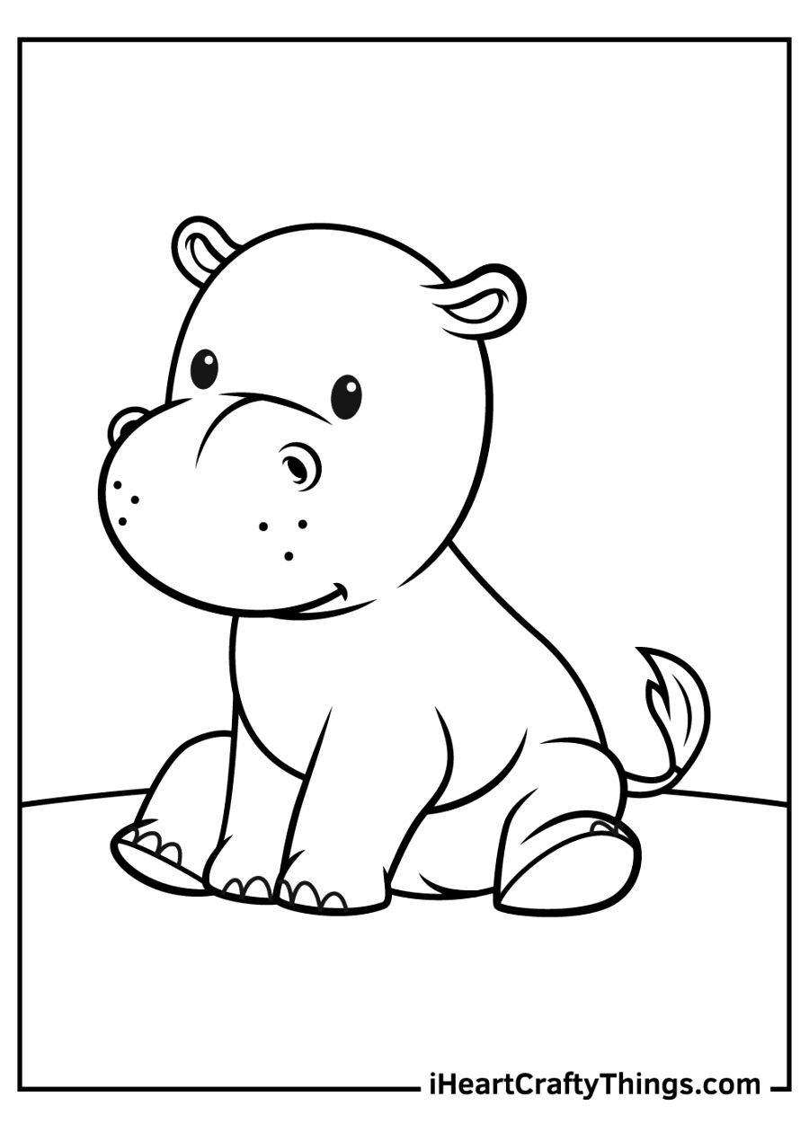 simple printable coloring pages pictures