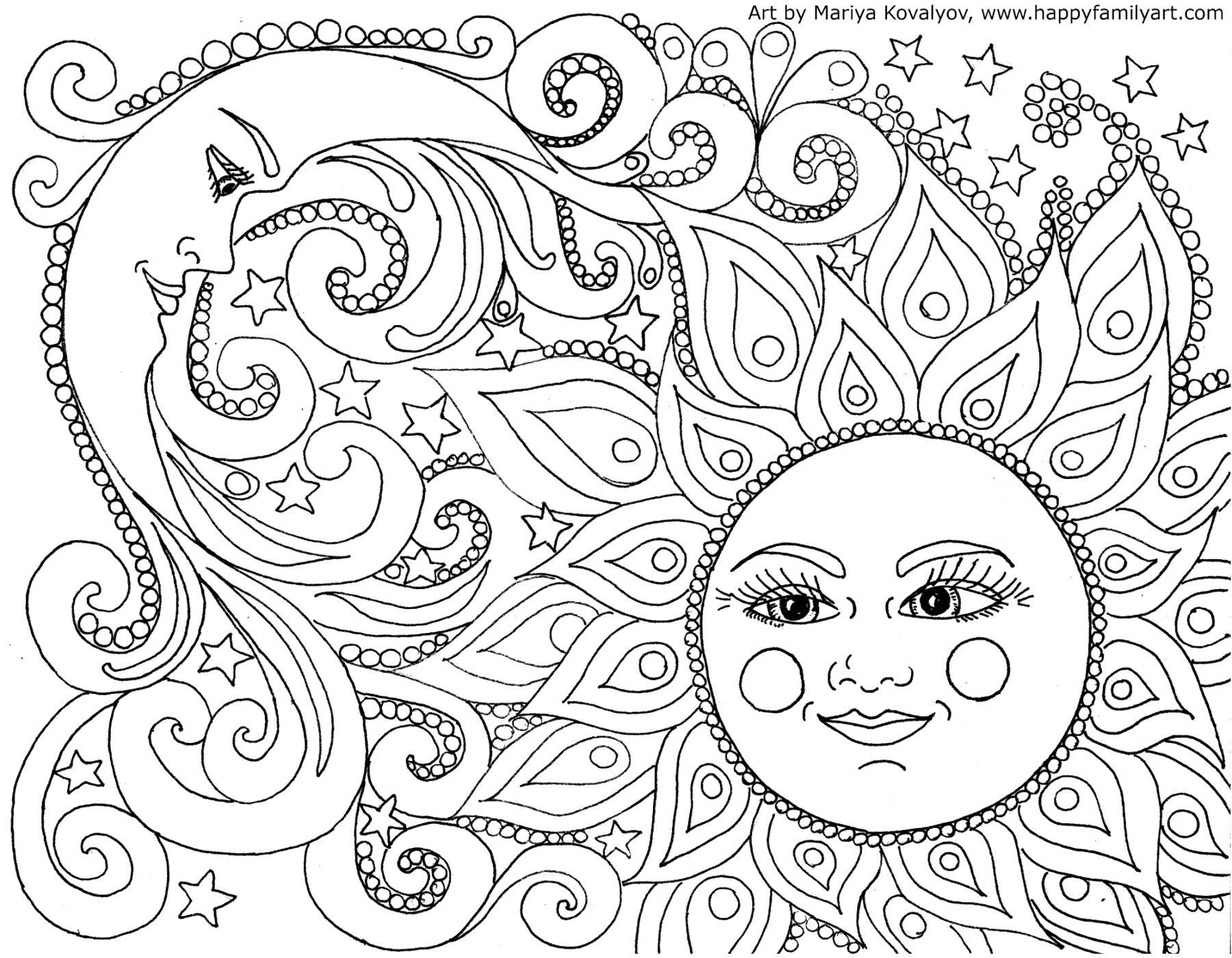 excelent printable coloring pages Printable Coloring Page