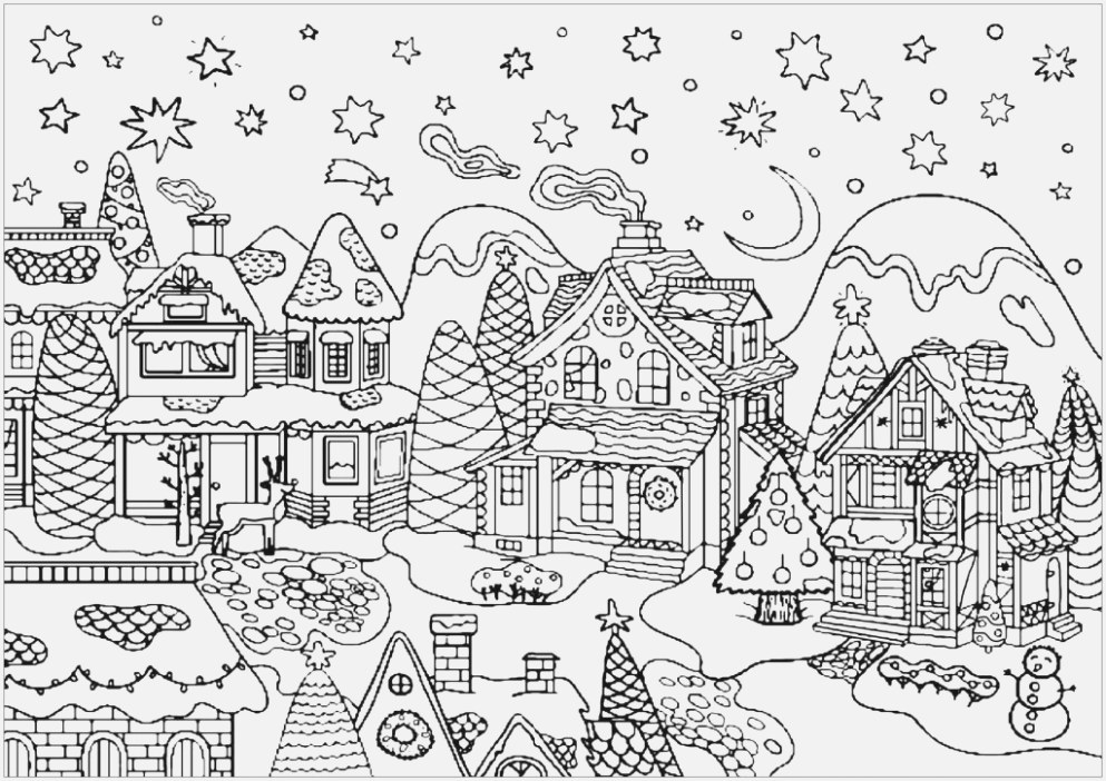 The best christmas coloring pages download for free