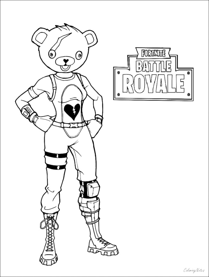 Enjoyable fortnite coloring pages coloring pages free