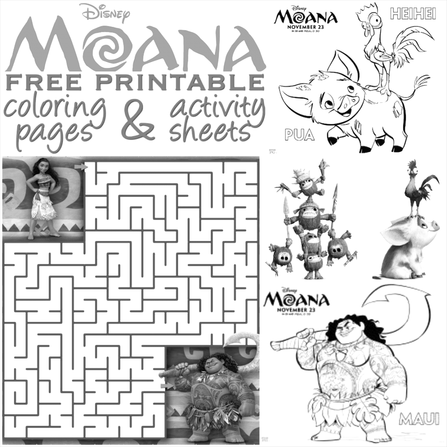 Make your moana coloring pages cool coloring sheet