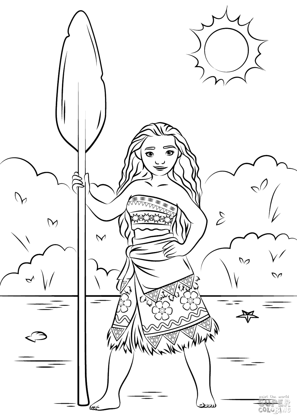 amazing moana coloring pages coloring pages