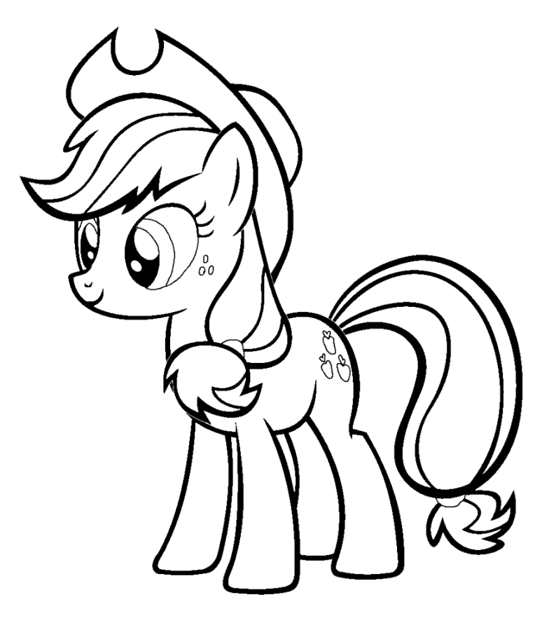 fantastic my little pony coloring pages colour and print
