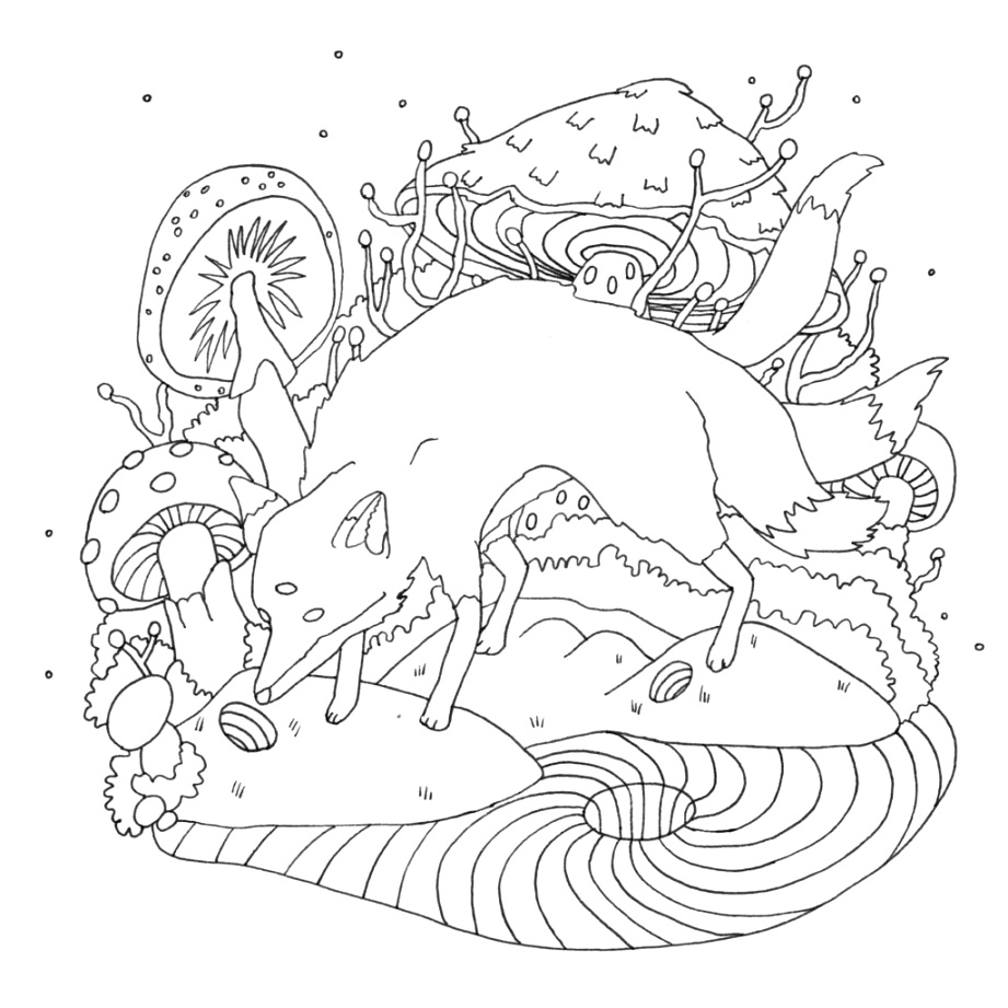 great coloring book pages collection
