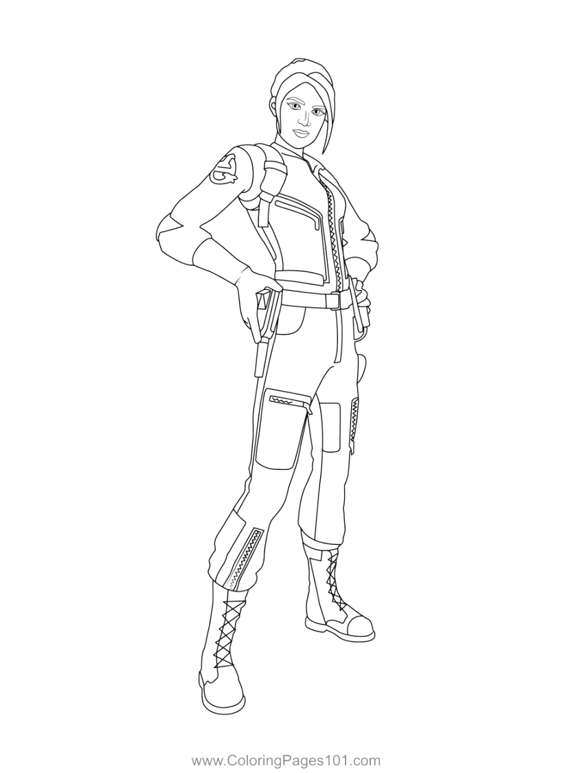 great fortnite coloring pages Coloring Pictures For Toddlers