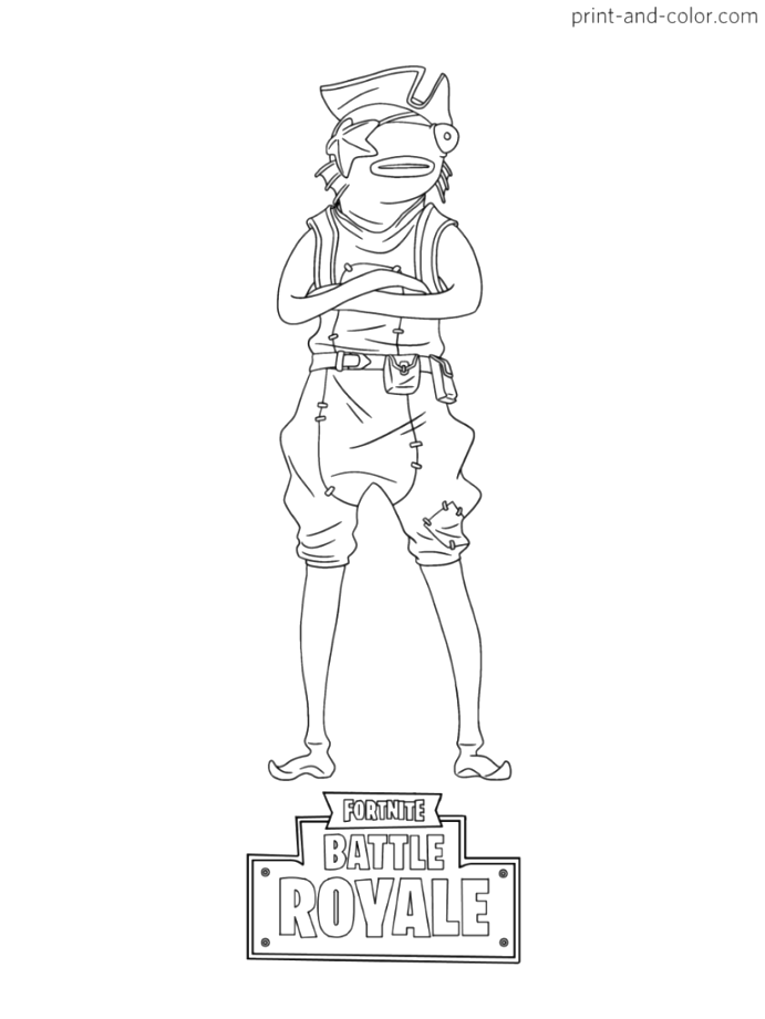 Remarkable fortnite coloring pages coloring pages printable