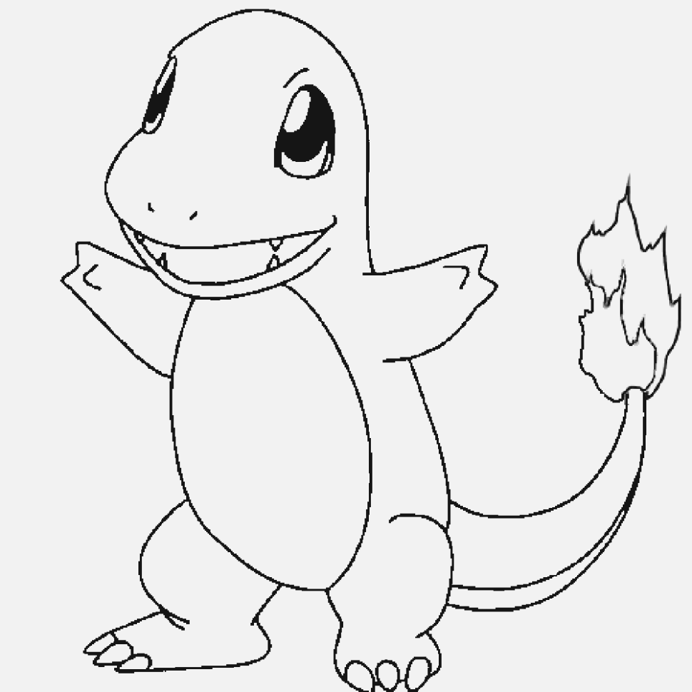 simple pokemon coloring pages for children and adults
