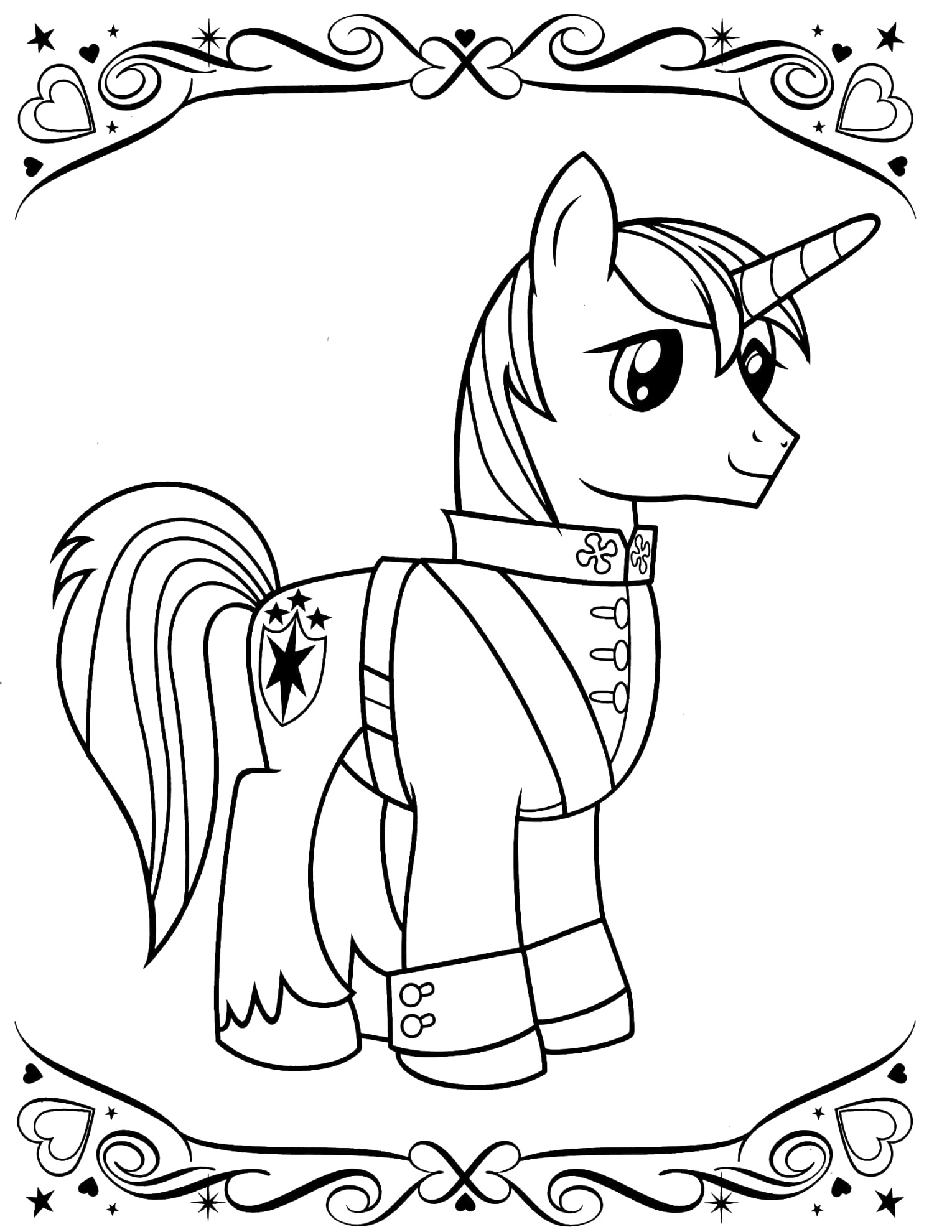 The best my little pony coloring pages to color your life
