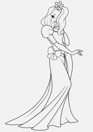 Make your princess coloring pages to print and color