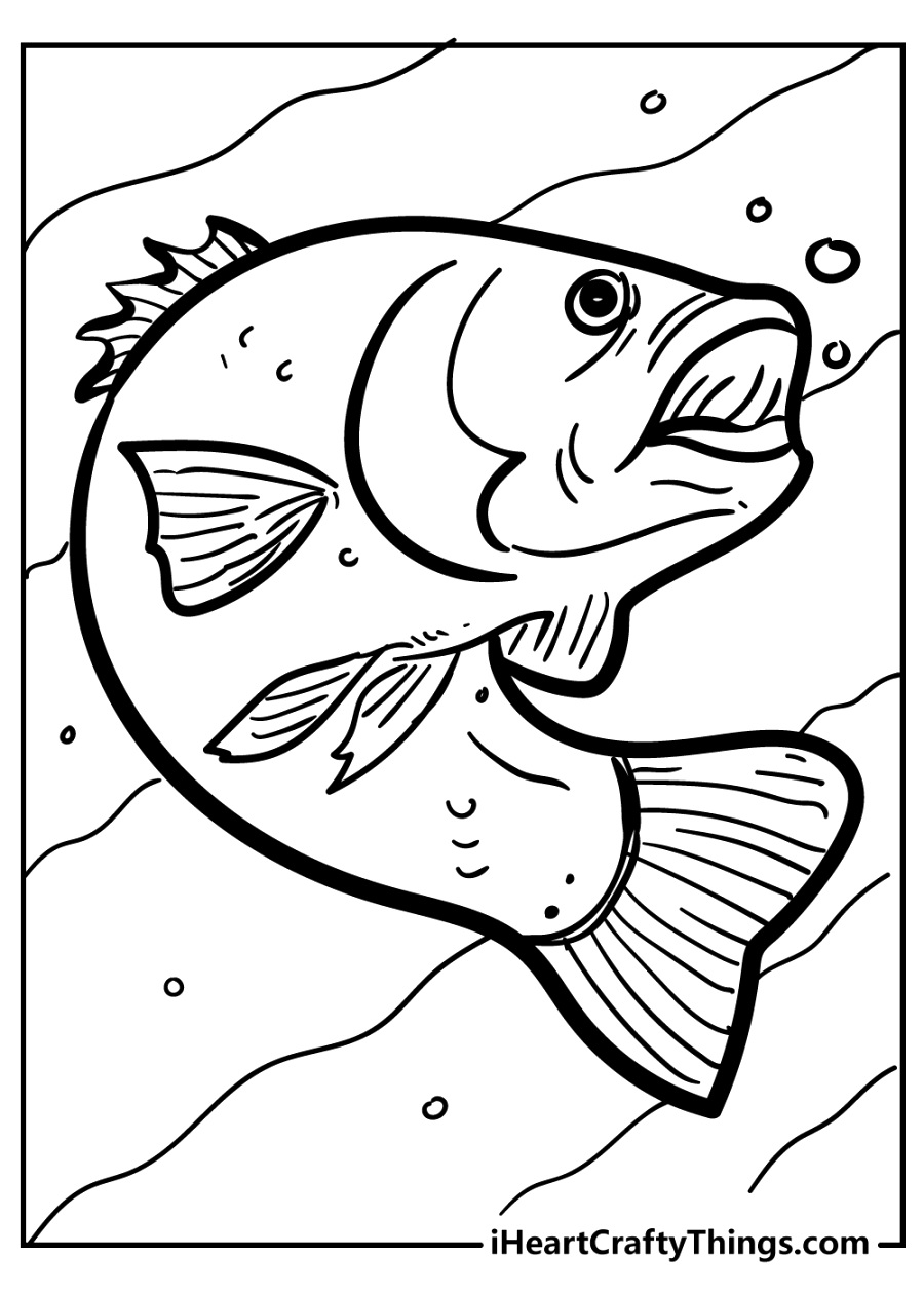 beautiful fish coloring pages coloring pages