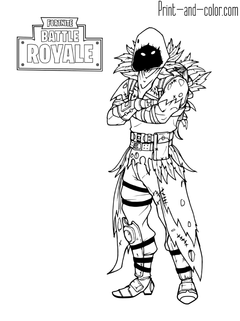 cute fortnite coloring pages printable pdf