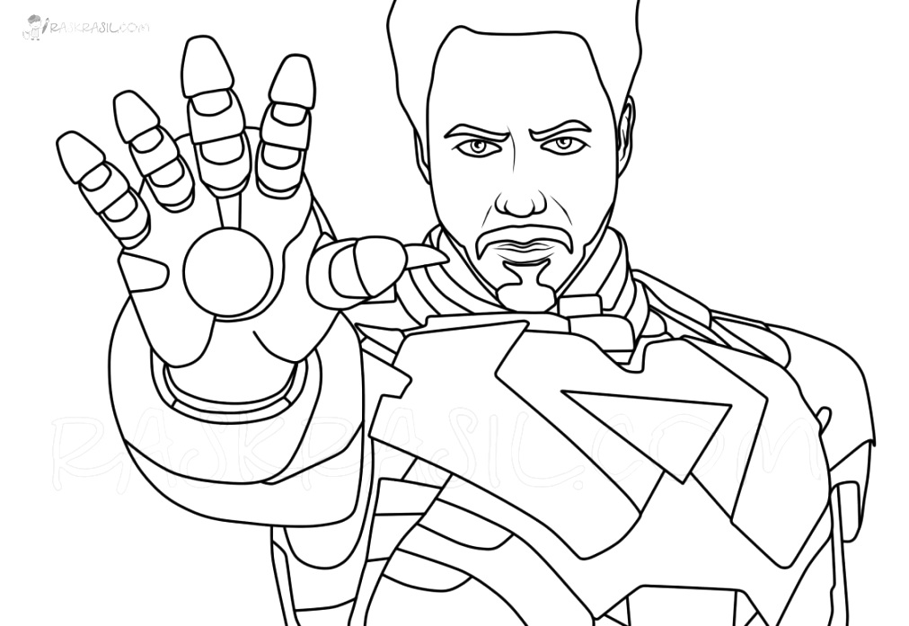 Enjoyable iron man coloring pages for children and adults