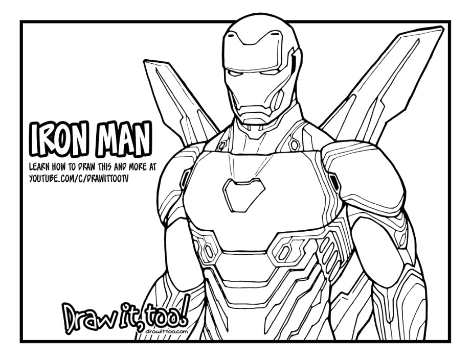 lol iron man coloring pages to print and color