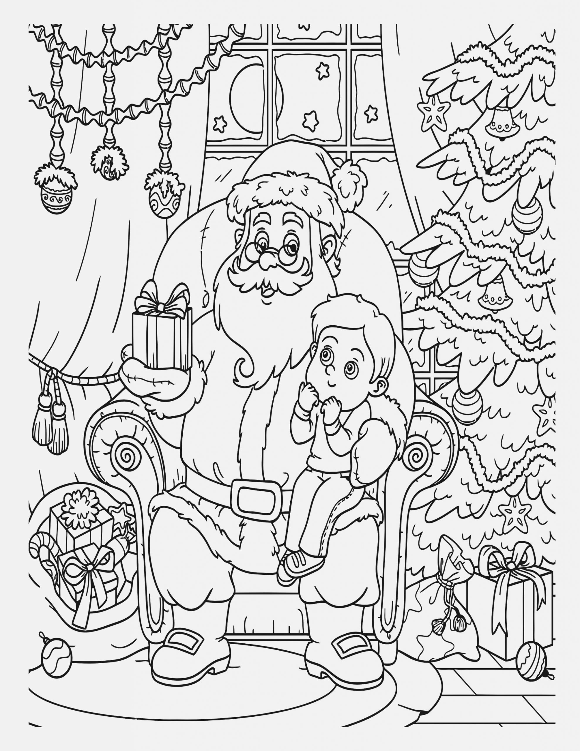 cute christmas coloring pages cool coloring sheet