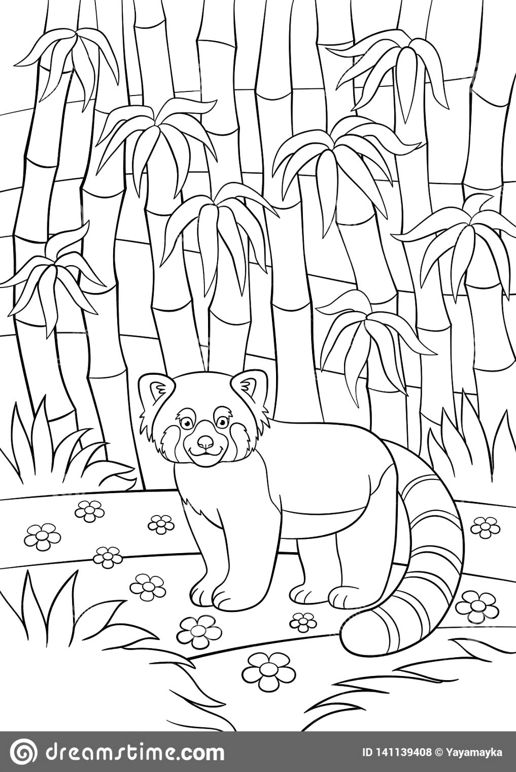 Make your panda coloring pages to print