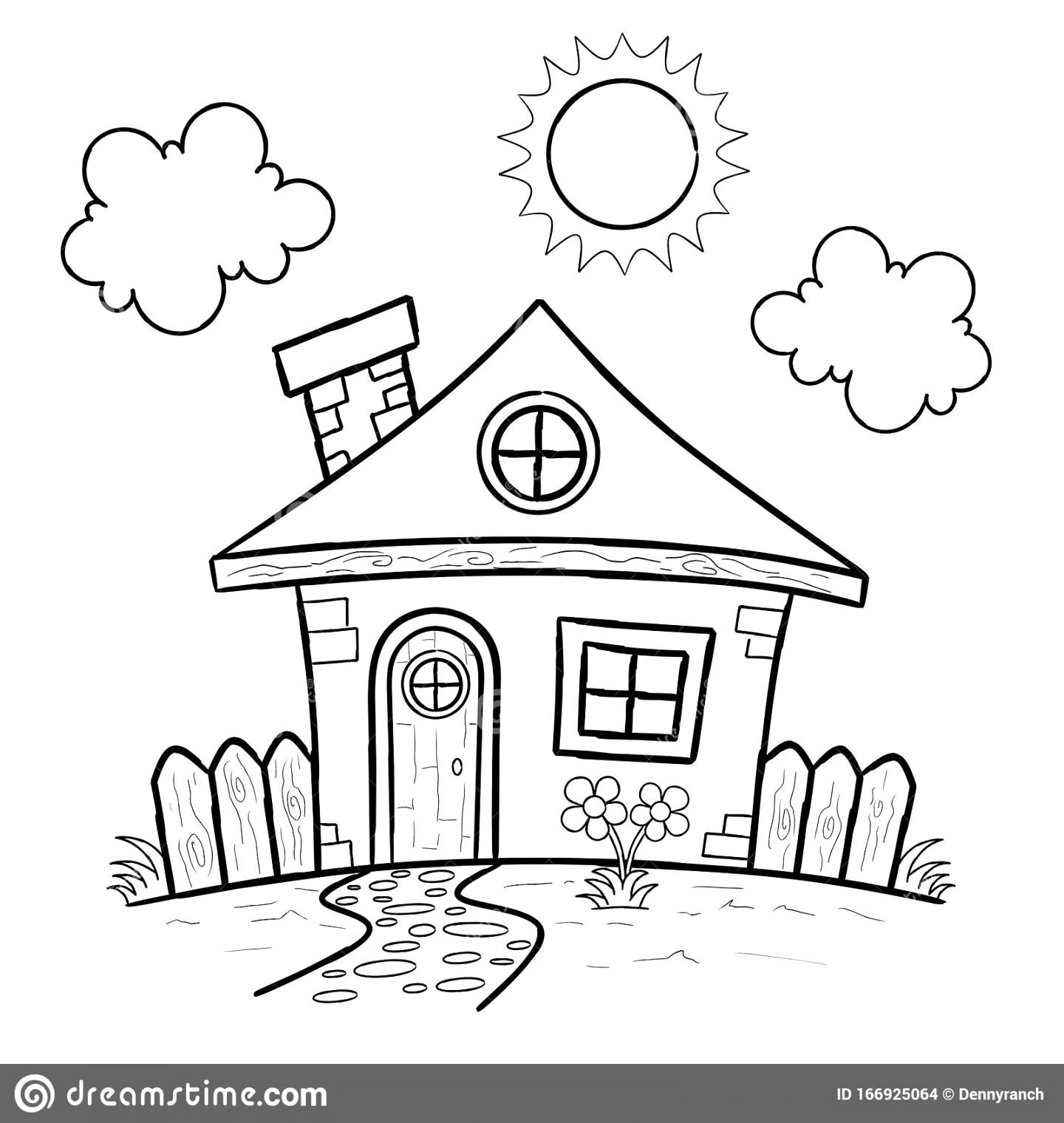 The best house colouring pictures pdf download