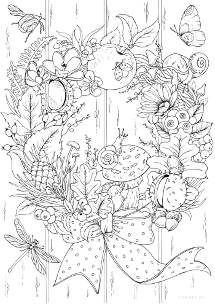 fun with autumn coloring pages free pdf