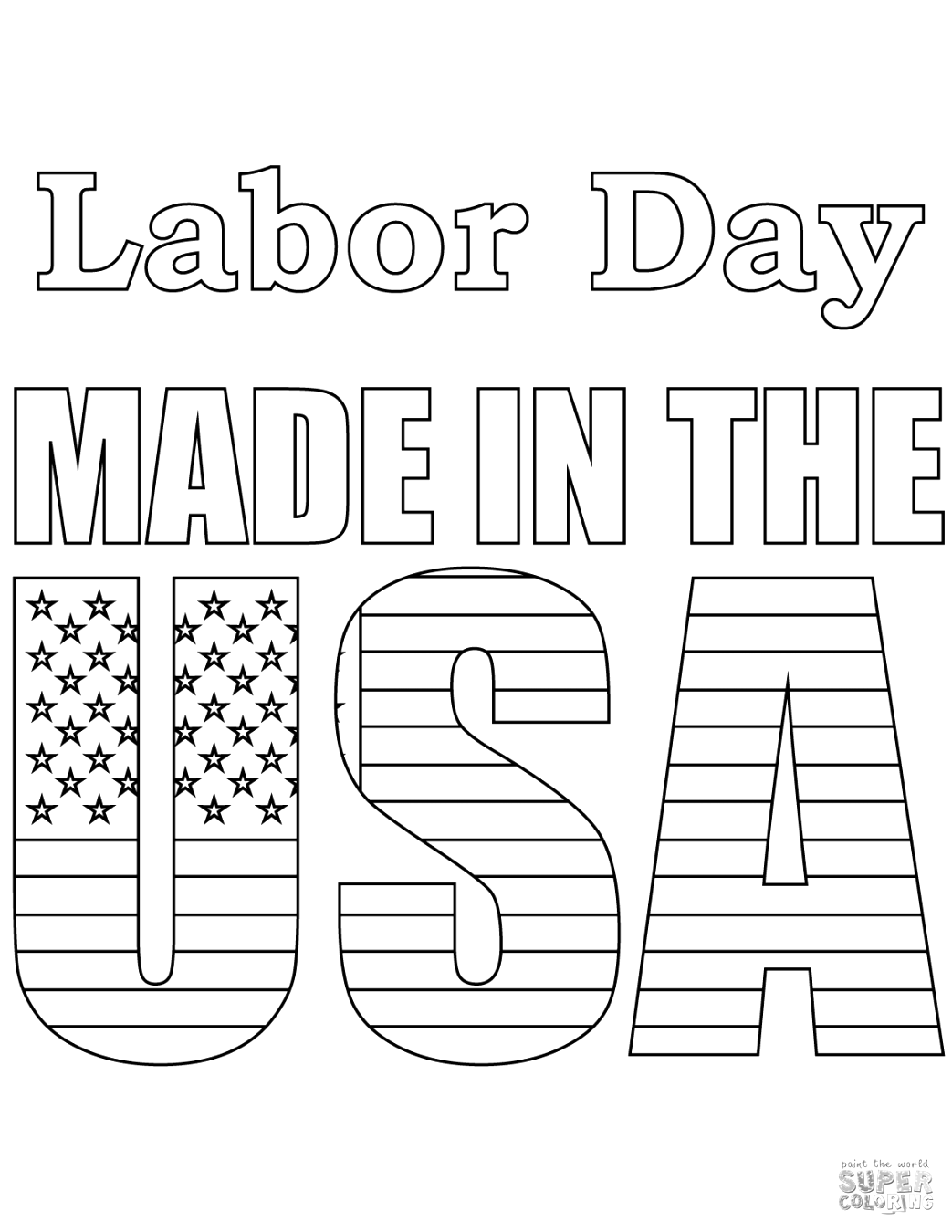 explore labor day coloring pages to print and color