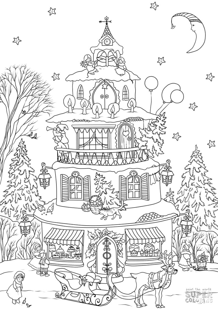 Simply download house colouring pictures coloring pages
