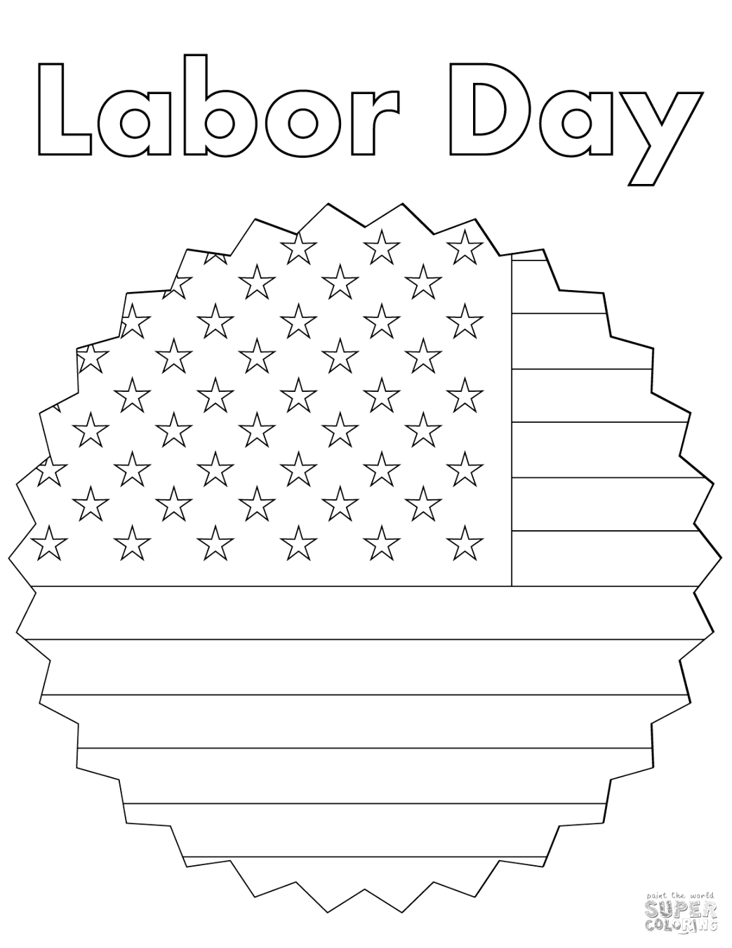 beautiful labor day coloring pages to color free